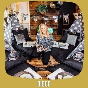 Tipi kinderfeestje disco