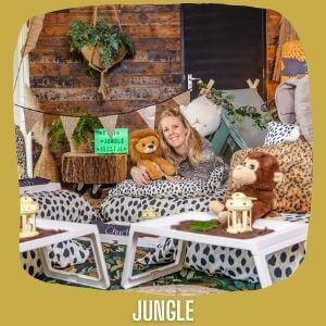 Tipi kinderfeestje jungle