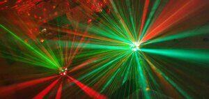 verlichting disco kinderfeestje